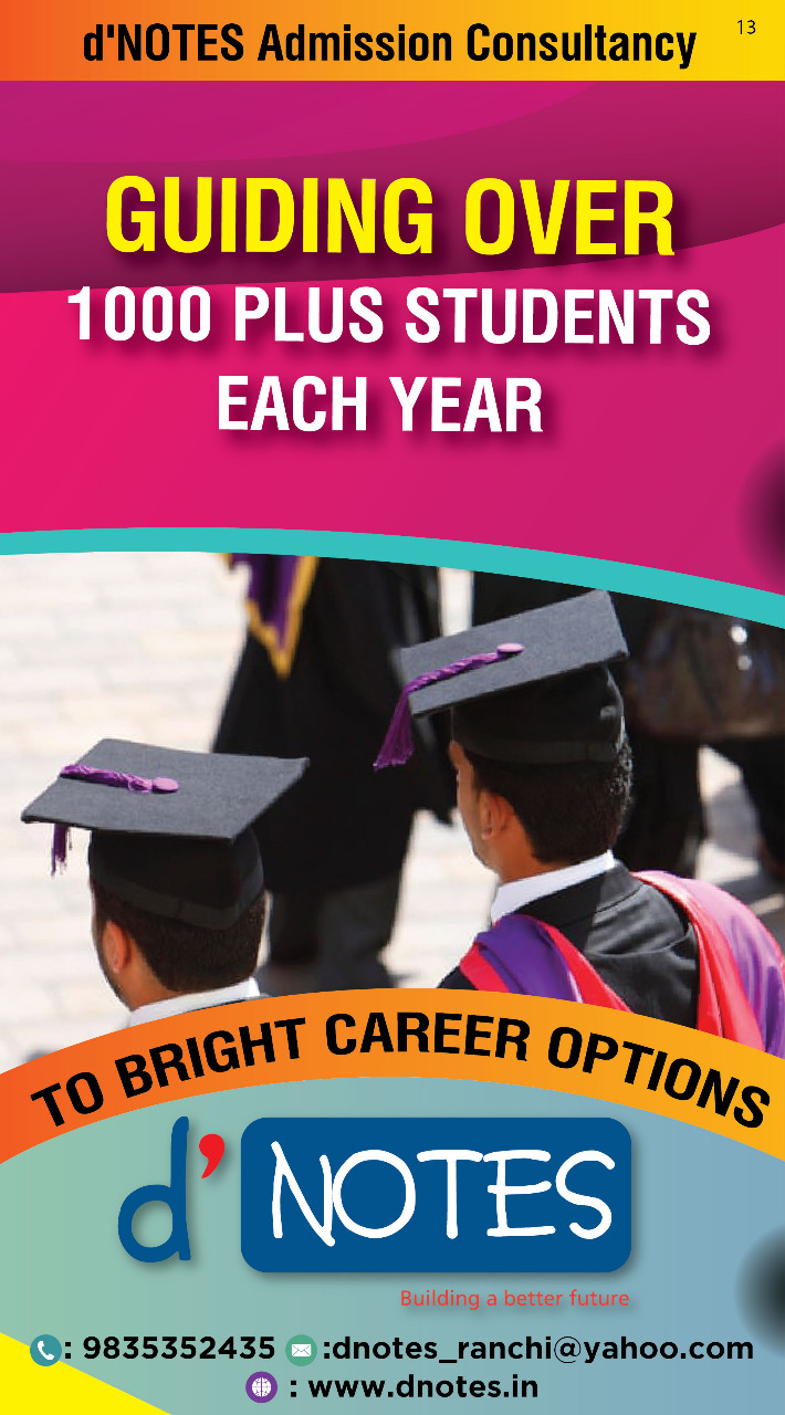 d`NOTES Admission Consultancy Guiding 1000+ Students Every Year