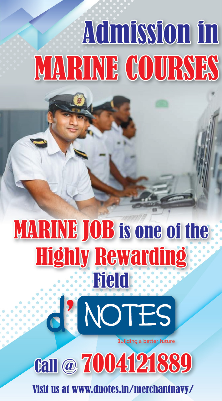 Admission in Marine Course