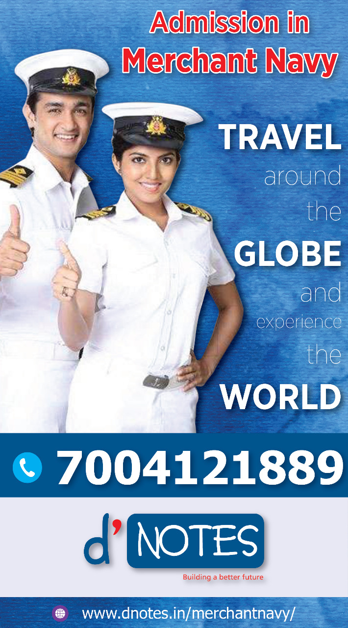 Go Around the Globe Join Merchant Navy