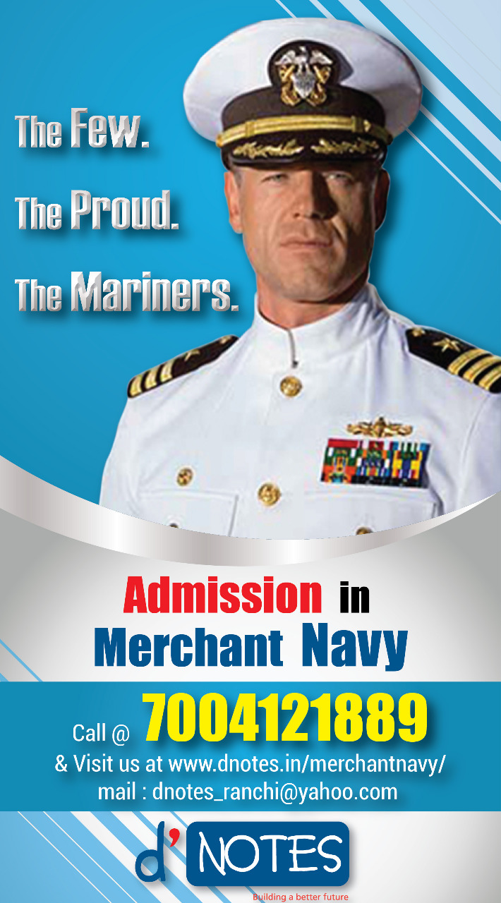 A ship in port is safe. But that`s what not ships are built for. Join Marine
