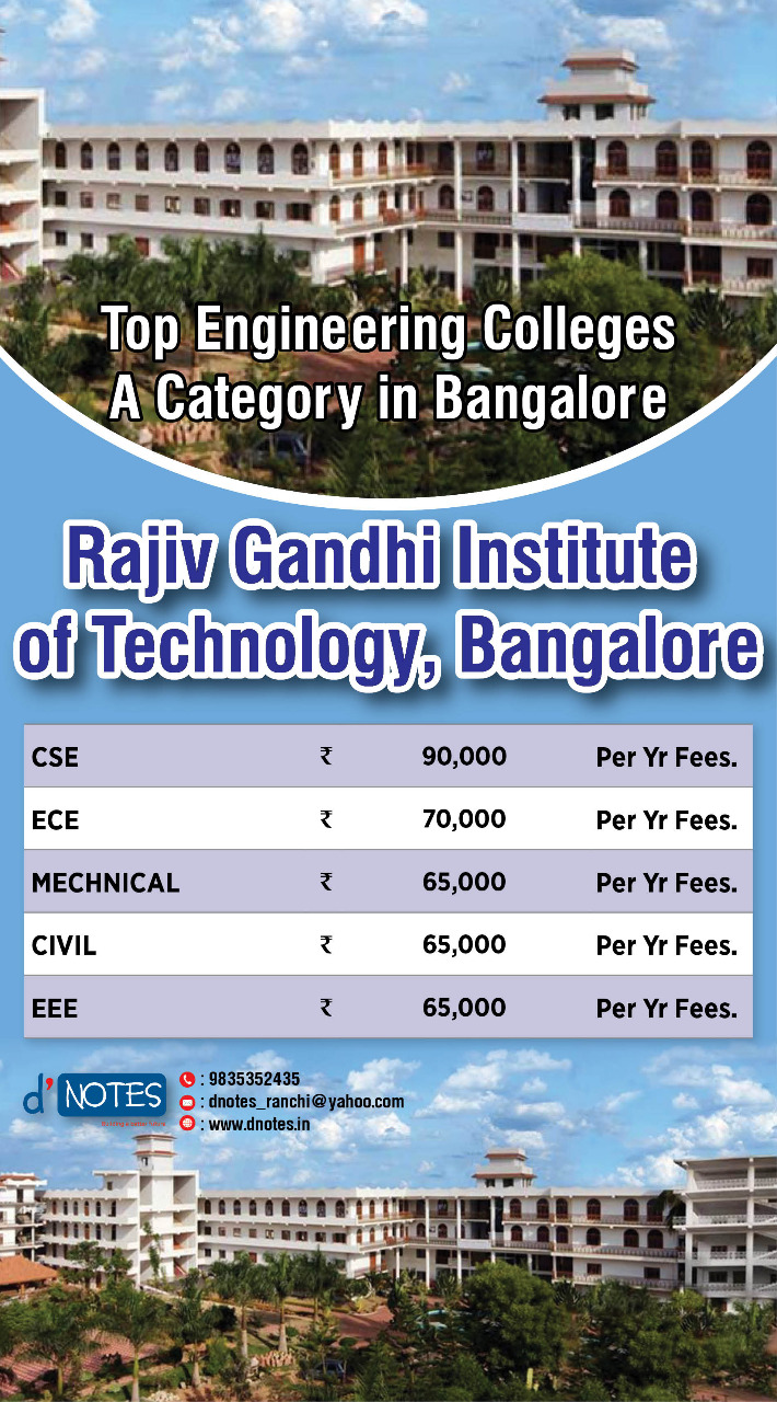 Rajiv Gandhi Engineering College Bangalore